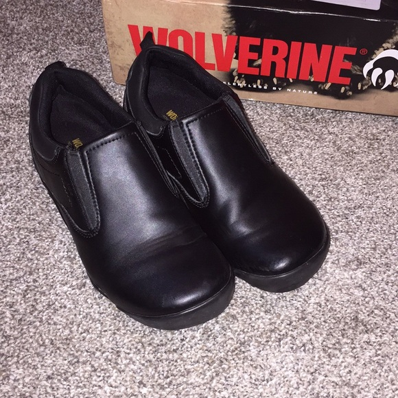 Wolverine Shoes   Ladies Comfy Black